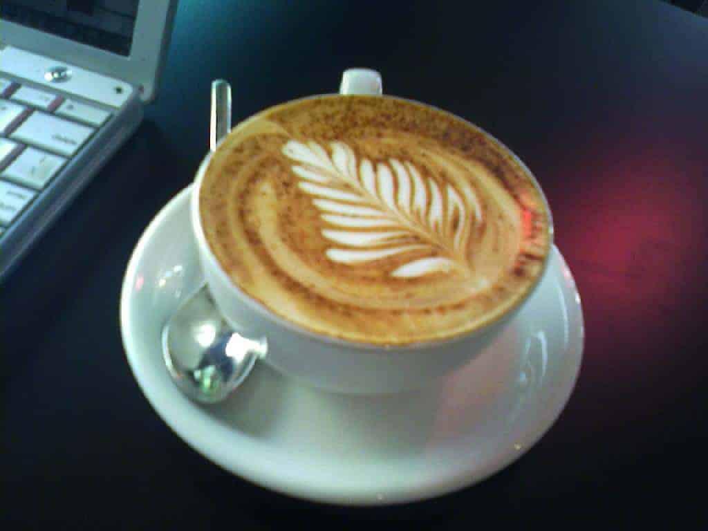 pretty cappuccino!