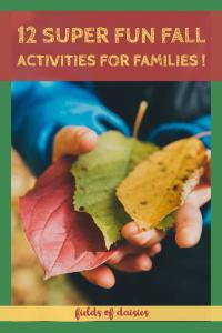 fall activities ideas