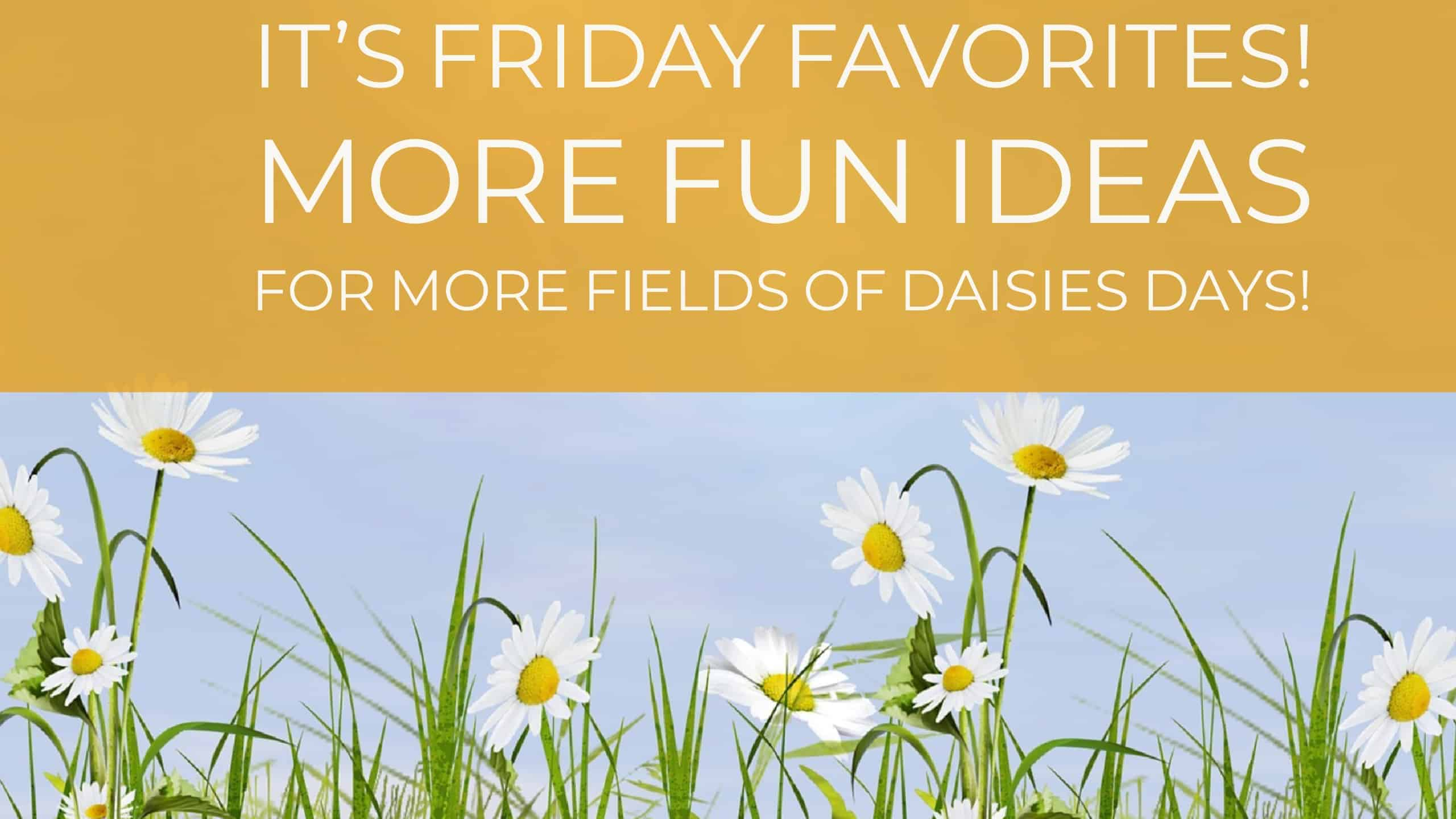 Fields of Daisies Day