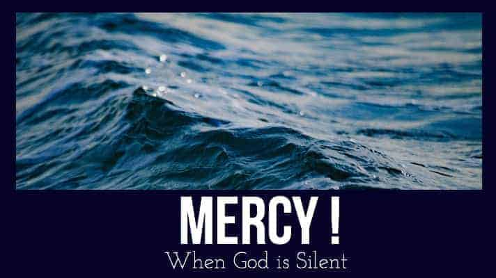 stormy waters mercy God
