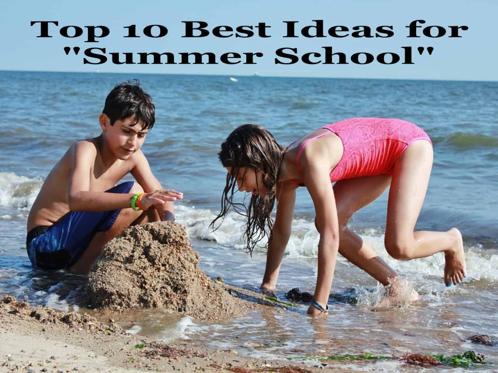 Fun Summer School Ideas