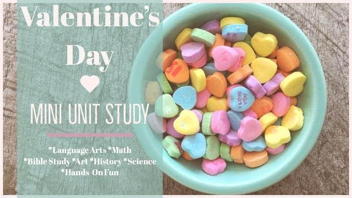 Free Valentine S Day Mini Unit Study Fields Of Daisies