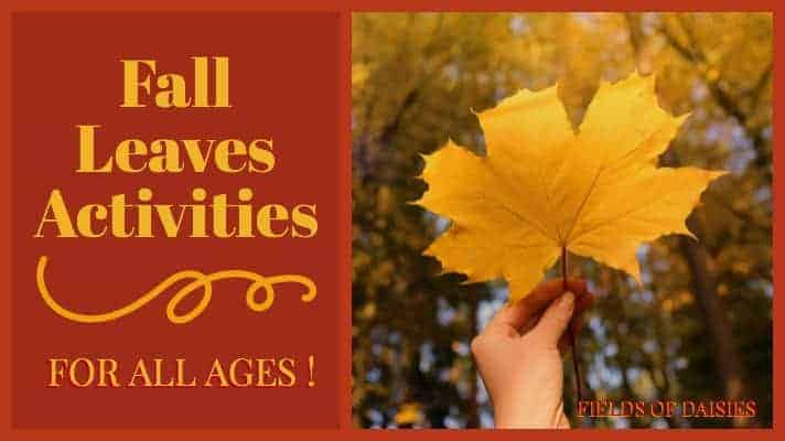 fall leaves craft ideas Archives - Fields of Daisies