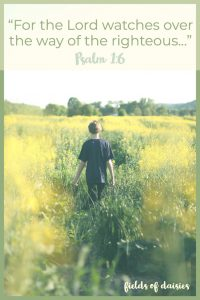 Psalm 1 walking with Jesus
