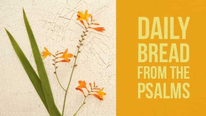 praying psalm 27