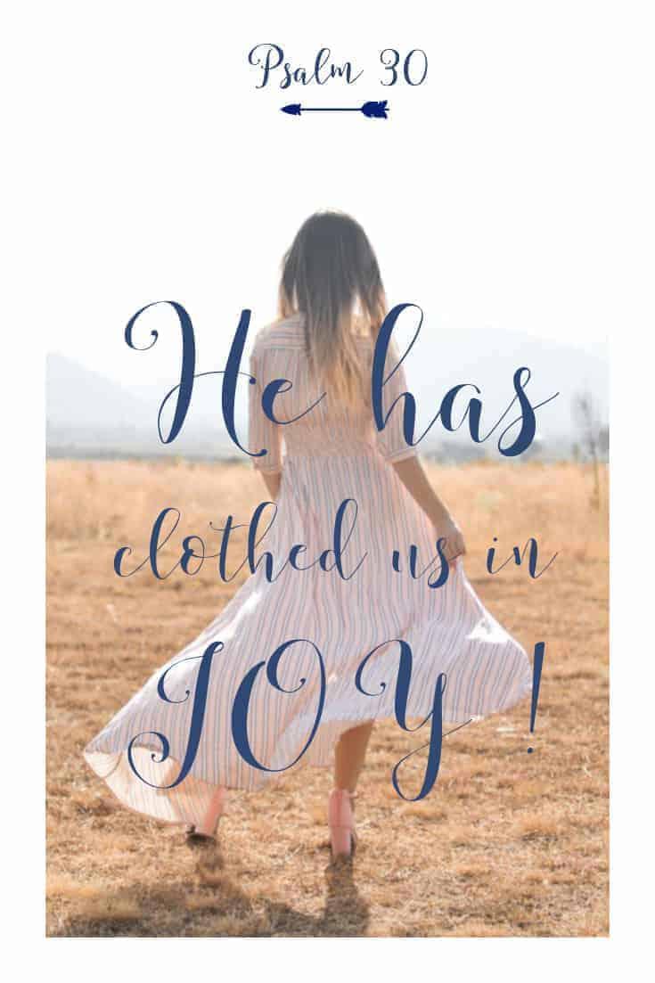 Praying Psalm 30