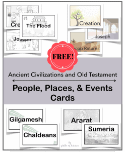 Printables for Ancient History