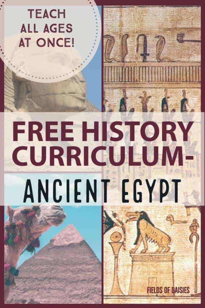 ancient egypt free homeschooling history curriculum
