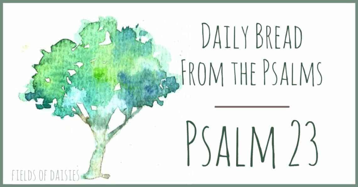 Psalm 23 devotional