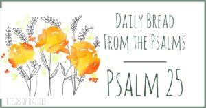 Psalm 25 devotional