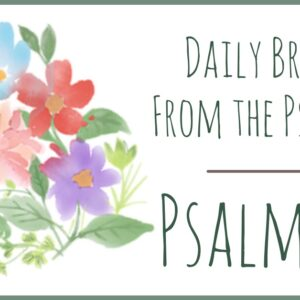 Psalm 32 devotion