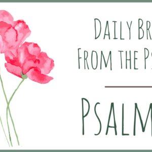 Psalm 21 devotional