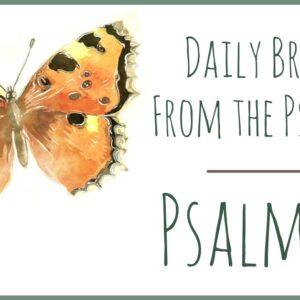 Psalm 16 devotional