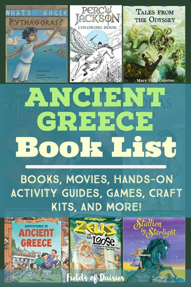 ancient greece children's books