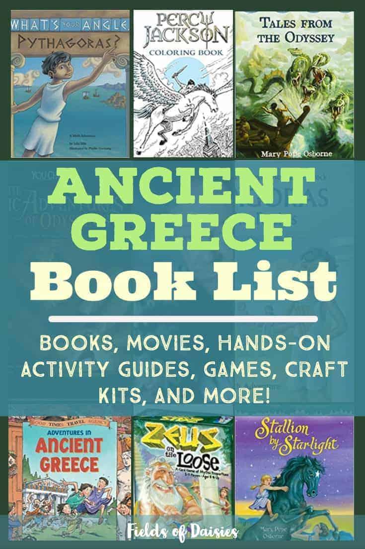 ancient greece children's books