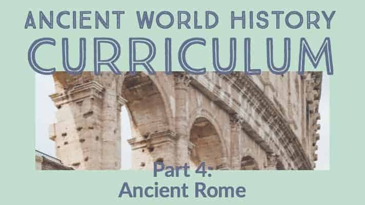 Best Books List for Ancient Rome Unit