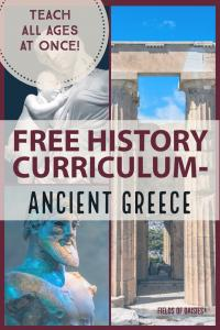 Ancient Greece Unit FREE Homeschooling !