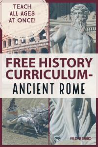 Ancient Rome History Unit Free Homeschooling