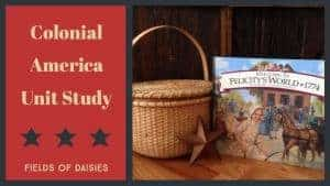American History Books for Colonial America Unit Study