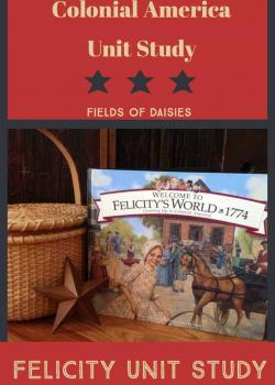 American Girl Felicity: Colonial America Unit Study Resources