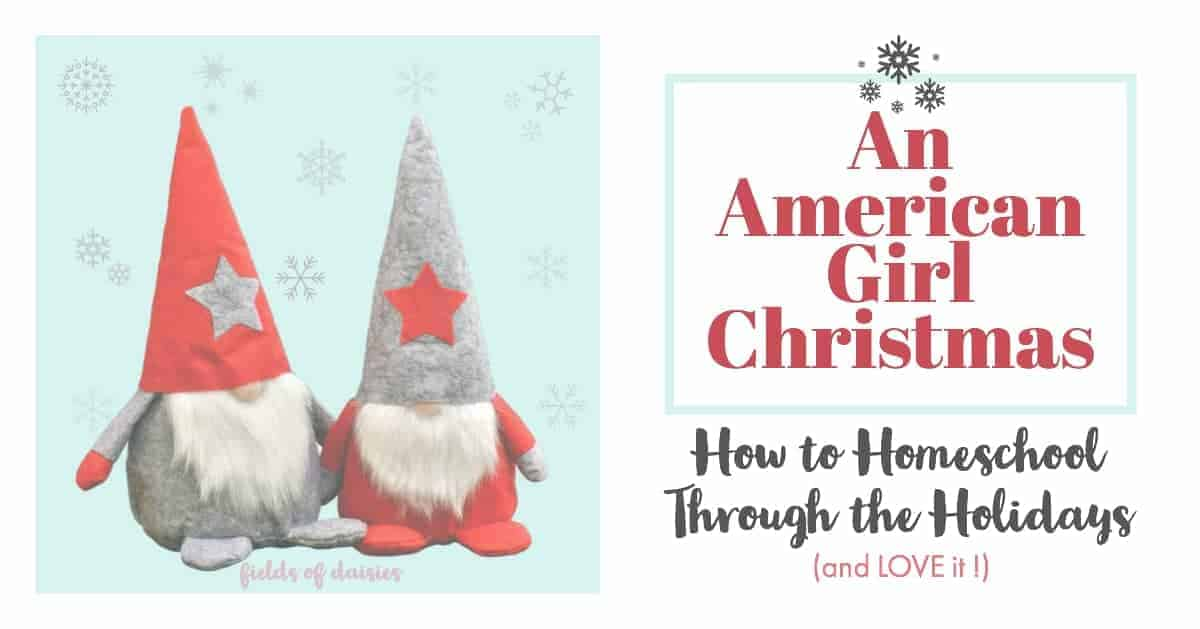 kids, homeschooling holidays, Christmas (gnomes)