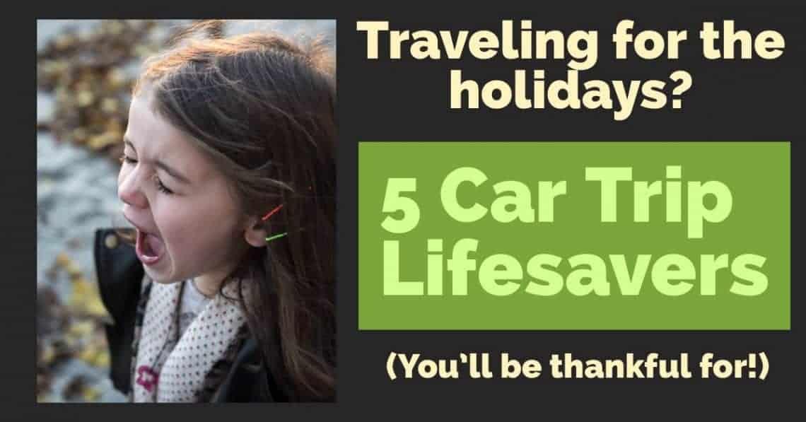 kid car trip ideas