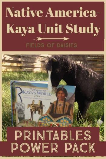 native america unit study printables