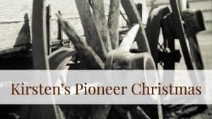 american girl pioneer christmas activities