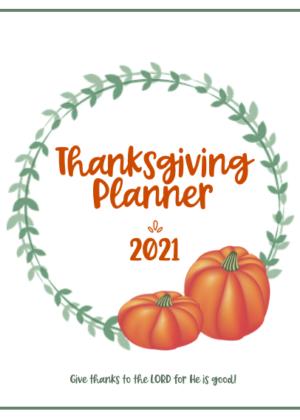 Thanksgiving Planner 2021