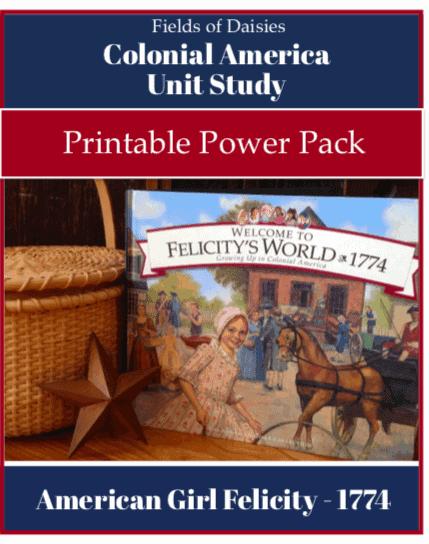 American Girl Felicity printables