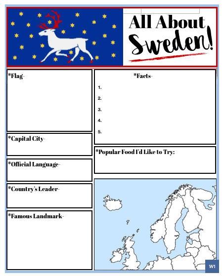 All About Sweden (American Girl Kirsten)