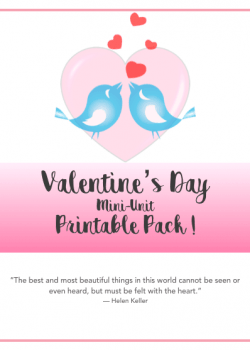 Valentine's Day Unit Study Printables