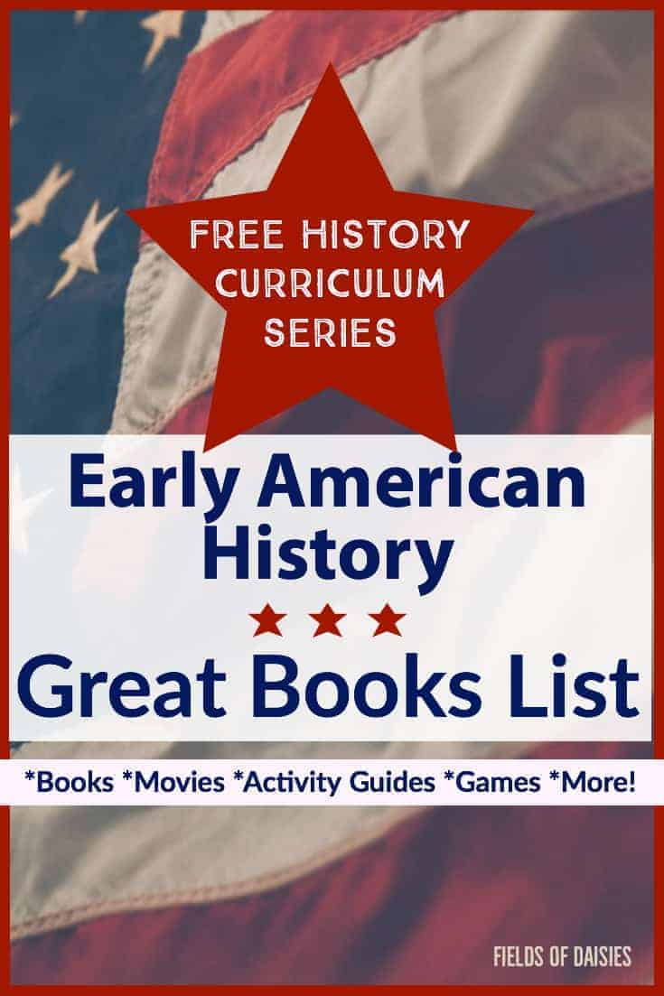american flag red star american history great books for kids list