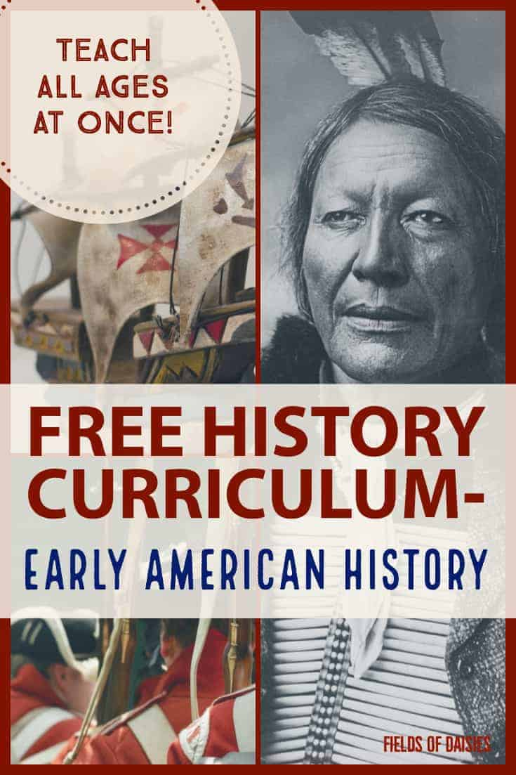 native american Columbus and the revolutionary war free early american history curriculum