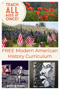 free world history curriculum (Part 1) - Fields of Daisies