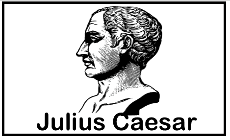 julius caesar ancient rome printable