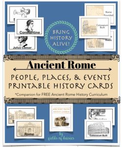 ancient rome people places and events