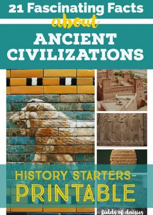 ancient civilizations mural, relief, and ruins