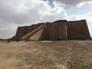 ancient ziggurat iraq