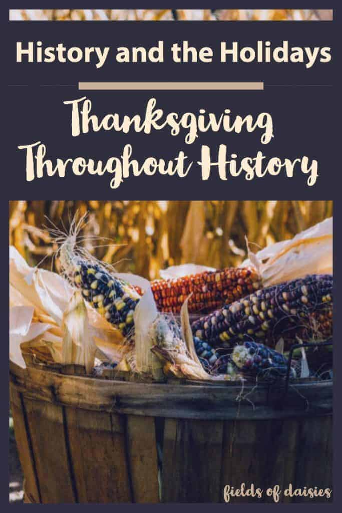 thanksgiving history, harvest