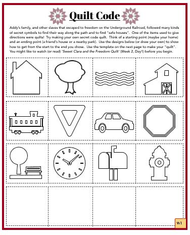 Civil War Quilts worksheet