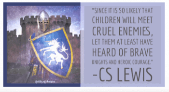 knights CS Lewis quote