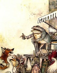 fox and toad fables