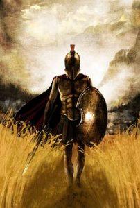 Ancient Greece Spartan Soldier