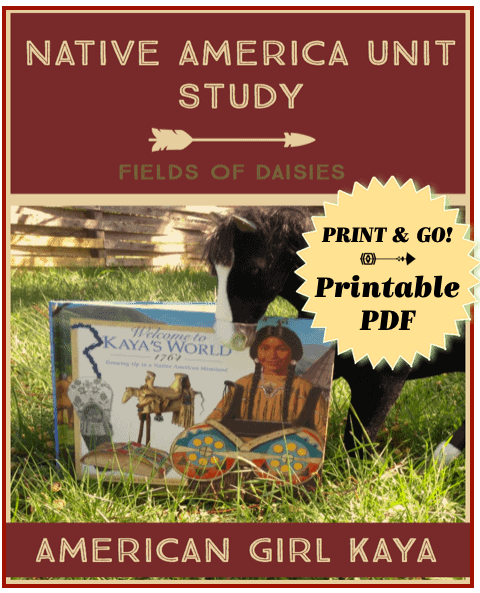 american girl kaya unit study printable
