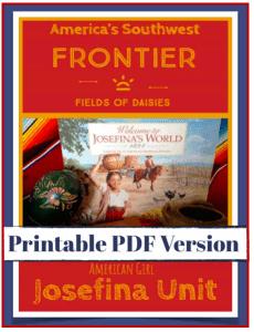 American Girl Josefina Unit Study PDF