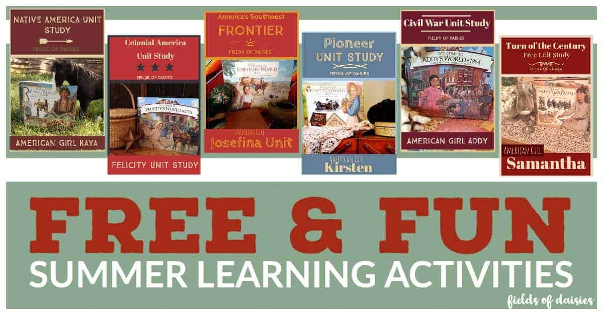 free summer activities american girl