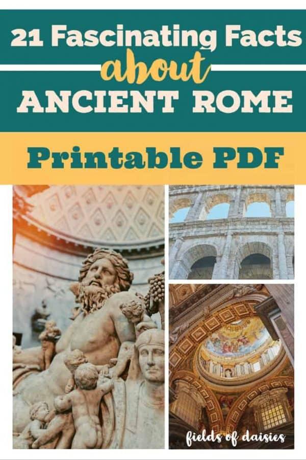 Ancient Rome Printable