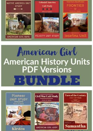 American History American Girl PDF Versions Bundle