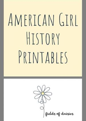 American History- American Girl Units